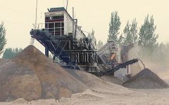 YIFAN Portable Concrete Crusher Helps with Puyang Construction Waste Disposal