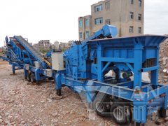 Portable Concrete Crusher for concrete recycling to Henan