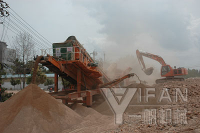 Sichuan Mianyang Construction Waste Recycling